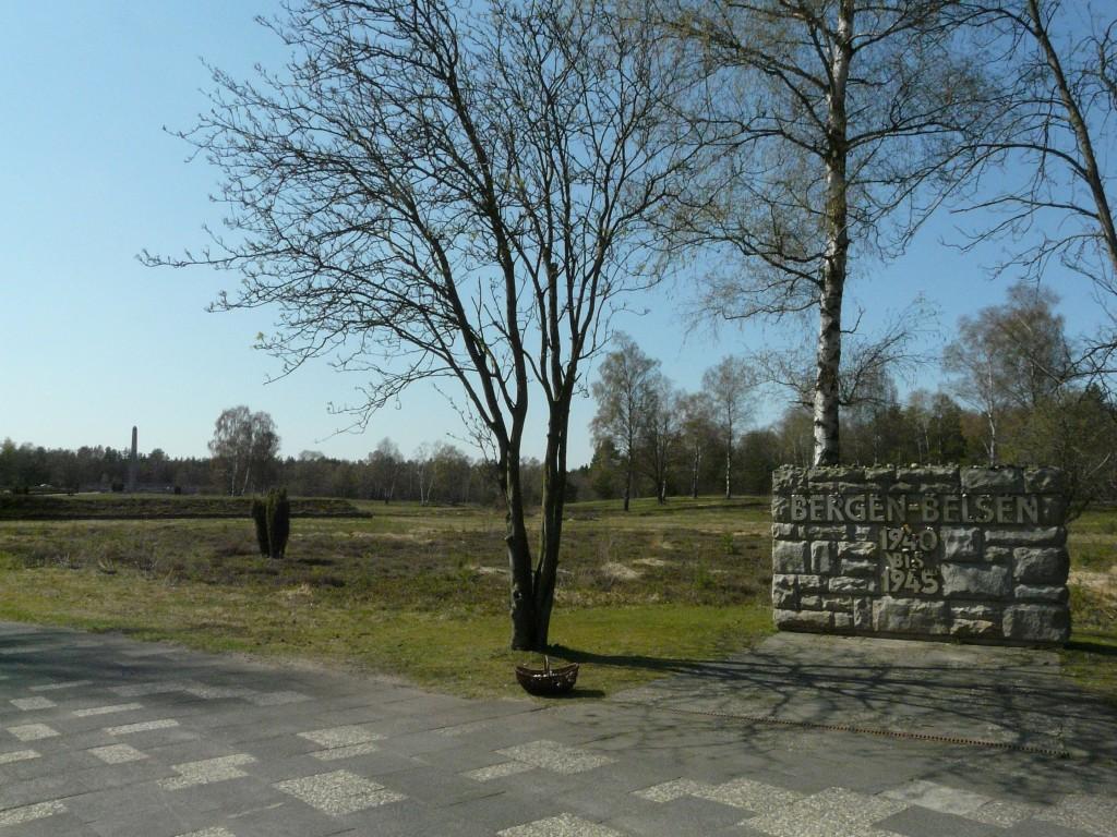 Ancien site Bergen-Belsen photographie 1
